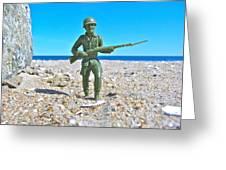 Army Man  Greeting Card