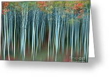 Army Of Trees Greeting Card