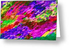 Art Abstract Background 97 Greeting Card