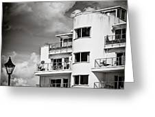 Art Deco Apartments Greeting Card