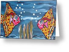 Art Fish Greeting Card