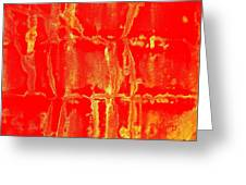 Art Homage Mark Rothko 1 Arizona City Arizona 2005 Greeting Card