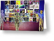 Art  Panorama  Greeting Card