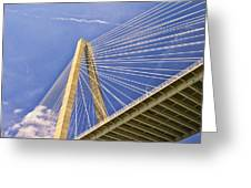Arthur Ravenel Jr. Bridge 2 Greeting Card