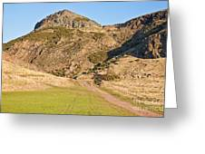 Arthur's Seat  Edinburgh  Scotland Greeting Card