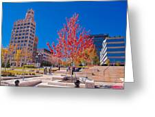 Asheville North Carolina Greeting Card