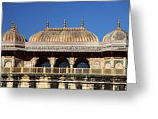 Asia, India Amber Palace Greeting Card