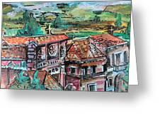 Assisi Italy Greeting Card