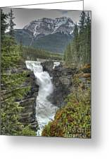 Athabasca Falls 2 Greeting Card