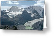 T-303504-athabasca Glacier In 1957 Greeting Card