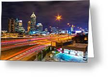 Atlanta - Georgia - Usa Greeting Card