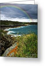 Atlantic Coast In Brittany Greeting Card