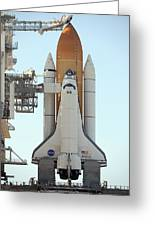 Atlantis Space Shuttle Greeting Card