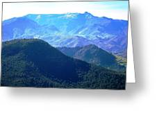 Atlas Mountains 13 Greeting Card