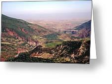 Atlas Mountains 18 Greeting Card