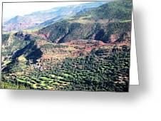Atlas Mountains 4 Greeting Card