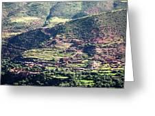 Atlas Mountains 5 Greeting Card