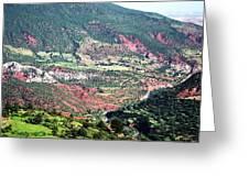 Atlas Mountains 6 Greeting Card