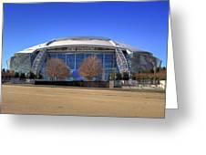 Att Stadium Greeting Card