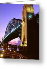 Australia, Sydney, Harbor Bridge Greeting Card