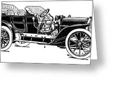 Automobile, 1907 Greeting Card