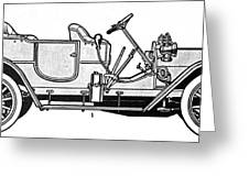Automobile, C1905 Greeting Card