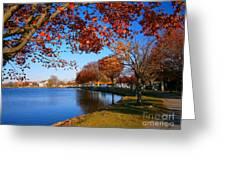 Autumn At Argyle Park Greeting Card