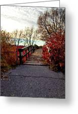 Autumn Journey Greeting Card