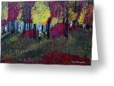Autumn Peak Greeting Card