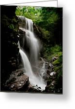 Avalanche Falls Greeting Card