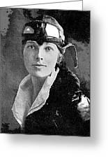 Aviator Amelia Earhardt No Date-2010 Greeting Card