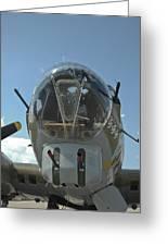 B-17 Nose Greeting Card