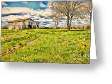 Back Roads Of Kentucky Greeting Card by Darren Fisher