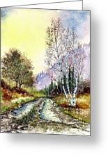 Backroads Greeting Card