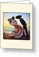 'bailarines De Vallarta' By Jim Demetro Greeting Card