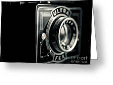 Bakelite Vintage Camera Greeting Card