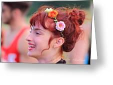 Ballerina Scarlett Bliss Rw2k14 Greeting Card