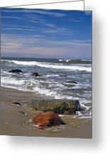 Baltic Sea Greeting Card