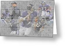 Baltimore Ravens Team Greeting Card