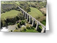 Barbin Sèvre Viaduct, Saint Laurent Greeting Card