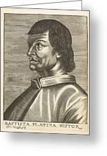 Bartolommeo De Sacchi Known Greeting Card
