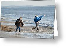 Barton On Sea Tyler And Harvey Greeting Card