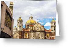 Basilica Of Our Lady Of Guadalupe Greeting Card