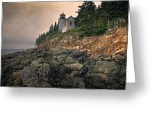 Bass Harbor Head Light II Greeting Card