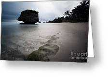 Bathsheba Beach Barbados Greeting Card