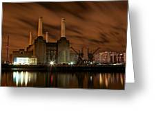 Battersea Power Station  Greeting Card