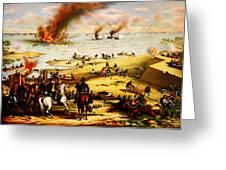 Battle Of Hampton Roads Greeting Card