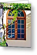 Bay Window Greeting Card