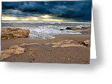 Beach. Greeting Card by Alexandr  Malyshev