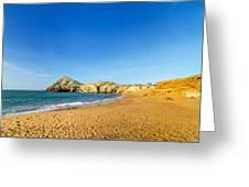 Beach In La Guajira Colombia Greeting Card